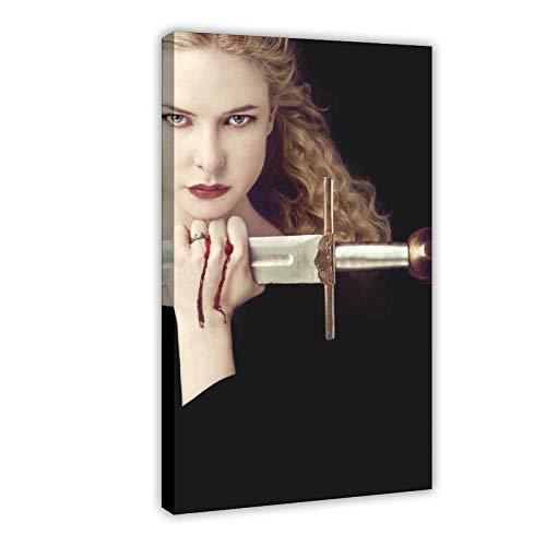 Rebecca Ferguson 11 poster su tela con film e televisione svedese Rebecca Ferguson, decorazione da parete per soggiorno, camera da letto, 60 x 90 cm, stile cornice1