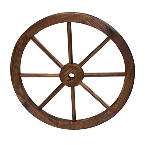 Rueda de Carro Madera de diámetro 60 cm de I Rueda Decorati