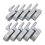 #N/D Universal Armario Armario Sensor Luces Para Dormitorio Cocina Armario Noche Lámpara LED Interior Bisagra Lámpara Bajo Gabinete Luces