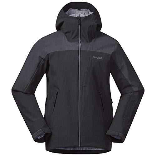 Bergans Hafjell Insulated M Jacket Grau, Herren Isolationsjacke, Größe XXL - Farbe Solid Charcoal - Solid Dark Grey - So