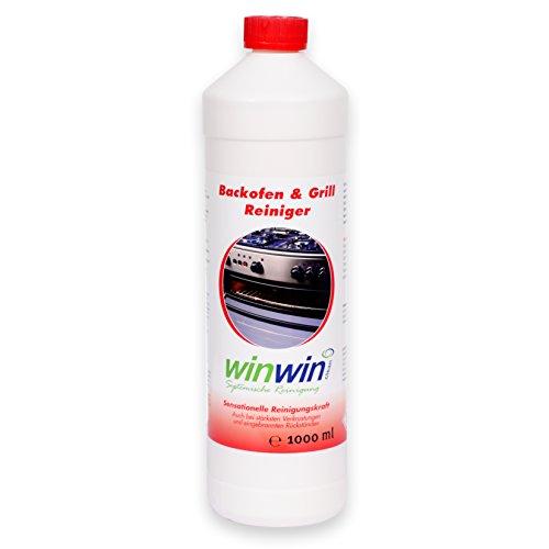 winwin clean Systemische Reinigung - Backofenreiniger 1000ml I Neue REZEPTUR! JETZT NOCH MEHR REINIGUNGSPOWER I Sonderposten