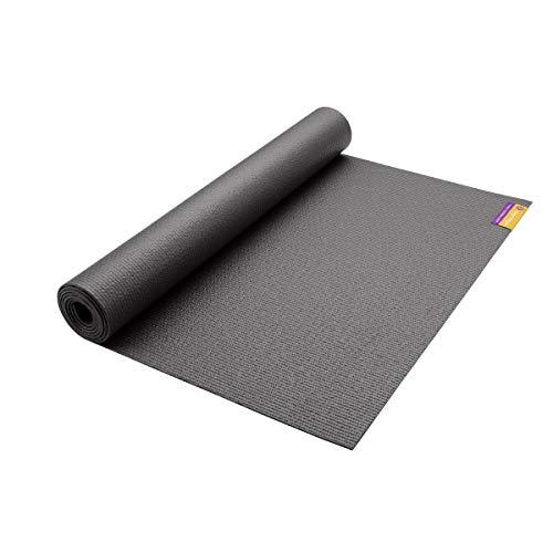 Hugger Mugger Tapas Original - Esterilla de yoga (172,7 cm), color gris