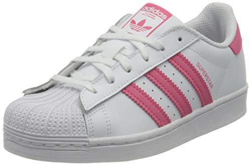 adidas Superstar C, Zapatillas Deportivas, FTWR White Super Pink Core Black, 29 EU