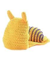 [JISEN]JISEN Baby Hats Crochet Yellow Snail Beanie Cap Photography Costume JISEN-Baby073 [並行輸入品]
