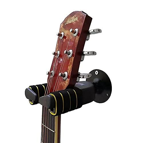 Soporte Guitarra Pared, Bloqueo Automático Diseño Adecuado Colgador de Pared para Guitarra...