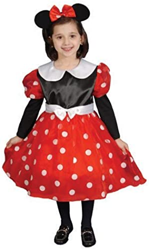 Deluxe Ms. Mouse Costume Set - Small 4-6 by Dress Up America