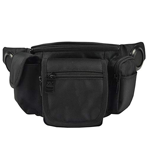 Outdoor Music Pockets, Multifunctional Oblique Bag, Shoulder Bag, Running Sports, Riding Pockets, Built-In Music,Black