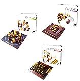 GIGAMIC Board Games Bundle - Quoridor, Quarto And Pylos