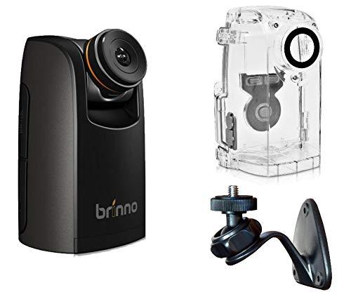 Brinno TLC200 Pro HDR Time Lapse - Cámara cronógrafo con Funda Resistente a los Agentes atmosféricos y Soporte de Pared, Color Negro
