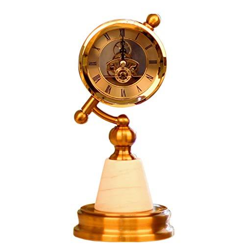 Adornos De Escritorio De Escritorio del Reloj Americano Artesanía Adecuada For El Vino En Casa Decoraciones Oficina del Gabinete De Estudio