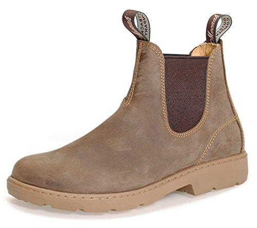 Moonah Ladies' Town & Country Chelsea Boots Light | Bronze | UK 6,5 / EU 40