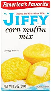 Jiffy Corn Muffin Mix, 8.5 oz (Pack of 2)