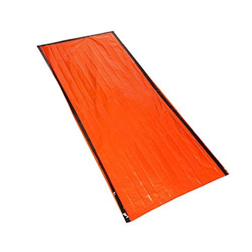 Albergue De Emergencia Bolsa De PE Supervivencia Saco De Dormir Reutilizable Manta Carpa para Acampar Al Aire Libre Senderismo