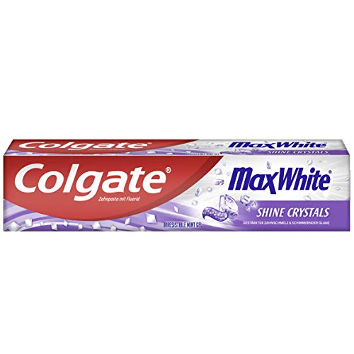 Colgate Max White Shine Zahnpasta, 12er Pack (12 x 75 ml)