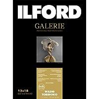 イルフォード インクジェット用紙 和紙 鳥の子 厚手 テクスチャードマット面 127mm×178mm 50枚ILFORD GALERIE Washi Torinoko ギャラリー ファインアート和紙 422170