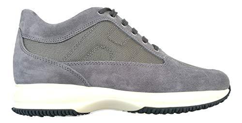 Hogan Scarpe Uomo Sneaker Interactive HXM00N00E10B2A0PLA Grigio (44.5 EU - 10.5 UK)