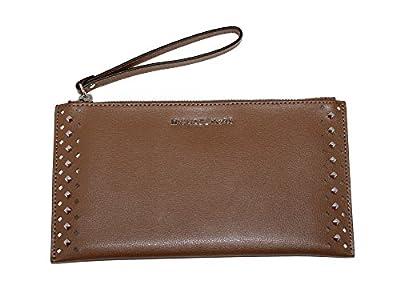 MICHAEL Michael Kors Women's Jet Set Travel Leather Zip Clutch
