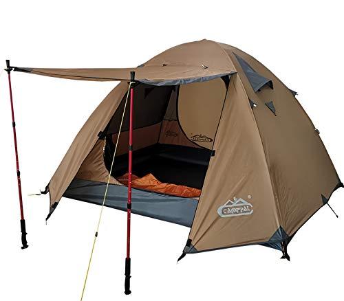 CAMPPAL Professional 3-4 Person 4 Season Mountain Tent
