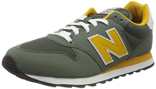 New Balance Herren 500 Sneaker, Grün (Green True), 42.5 EU