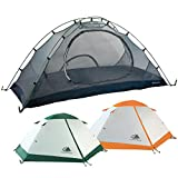 2 Person Backpacking Tent with Footprint -...