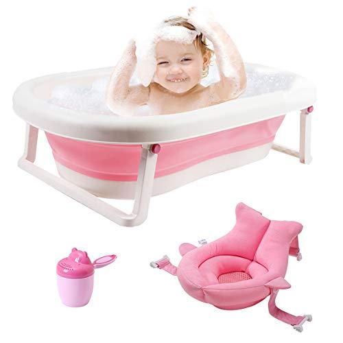 Baignoire bébé 3-en-1 Portable Baignoire pliable pour tout-petits...