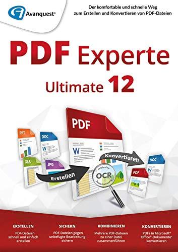 PDF Experte 12 Ultimate mit OCR Lizenz PKC/Keycard ohne Datenträger