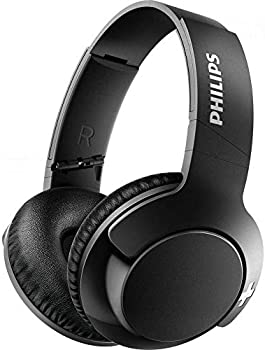 Philips BASS+ Wireless Bluetooth Closed-Back Over-Ear Headphones