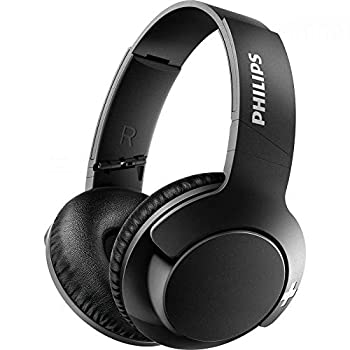Philips BASS+ SHB3175 Wireless Headphones up to 12 Hours of Playtime - Matte Black