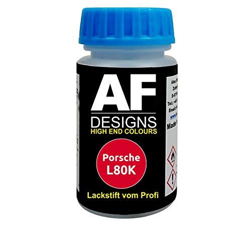 Lackstift für Porsche L80K Indischrot schnelltrocknend Tupflack Autolack
