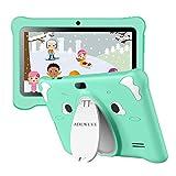 Tablet para Niños con WiFi, IPS 7 Pulgadas Tablet Infantil de Android 10.0 Quad Core 3GB RAM + 32GB /128 GB ROM | WiFi, | Control Parental, Educativo Software para niños preinstalado(Verde)