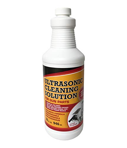 UltraSonic Gun Cleaner Solution for Gun Parts Cleaning, Concentrate (Quart, 32 oz.)