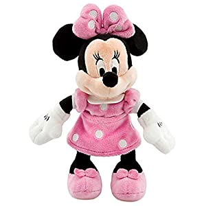 "Disney 8"" Minnie Mouse in Pink Dress Plush by Disney 9"