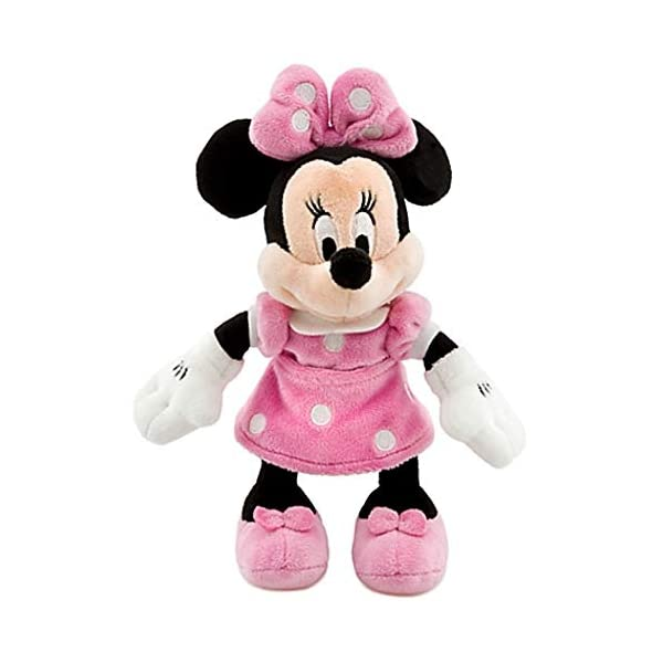 "Disney 8"" Minnie Mouse in Pink Dress Plush by Disney 1"