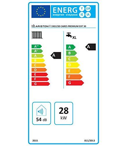 Ariston - Caldaia a condensazione da esterno Ariston Cares Premium EXT - 30 kW, Alimentazione a metano, A magazzino