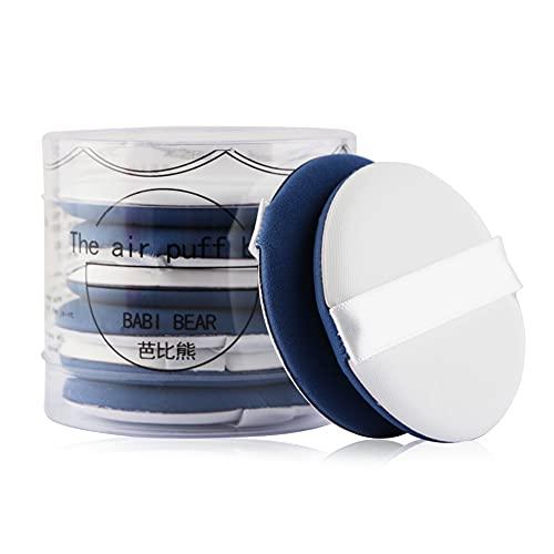 TAORANG Lot de 8 éponges cosmétiques pour fond de teint - Bleu