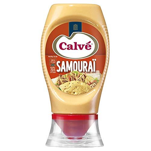 Calve SamouraI Soße 250ml Leicht würzige und Cremige Sauce aus den Niederlandem
