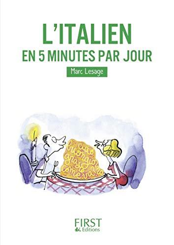avis amazon cdiscount professionnel Petit livre – Italien en 5 minutes par jour