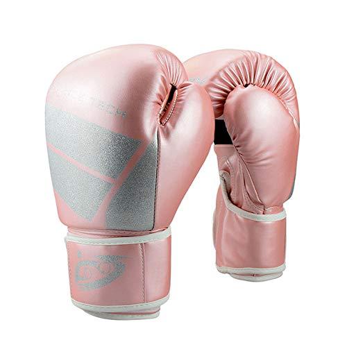 DJLHN6 / 8/10 / 12OZ niños Adultos Mujeres Hombres Guantes de Boxeo...