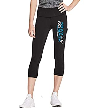 Epic MMA Gear Krav MAGA Capri Pants for Women  S,Contact Combat
