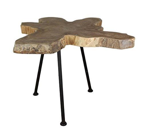 Main Möbel Rustikaler Couchtisch im Industrial Style Baumscheibentisch Lassen Sie Sich überraschen Kein Tisch gleicht dem Anderen