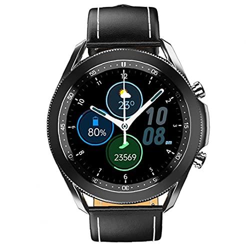 Rrunzfon Llamadas Inteligente Aptitud del Reloj Reloj del perseguidor Impermeable de los Deportes W3 Inteligente Bluetooth de Banda Hombres Mujeres Negro más cómodos de Usar