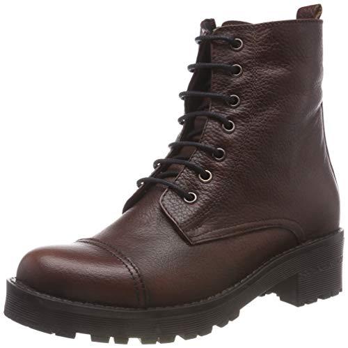 Andrea Conti Damen 0026843 Biker Boots, Braun (Dunkelbraun 061), 39 EU