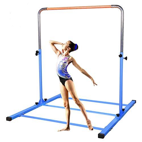 SHIWEI TJ Fitness Gymnastics Training Bar- Height Adjustable 3' to 5'...