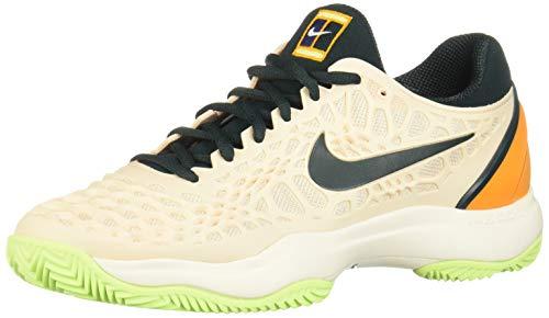 Nike Wmns Air Zoom Cage 3 Cly, Zapatillas de Tenis para Mujer, Multicolor (Guava Ice/Midnight Spruce-Orange Peel 800), 38 EU