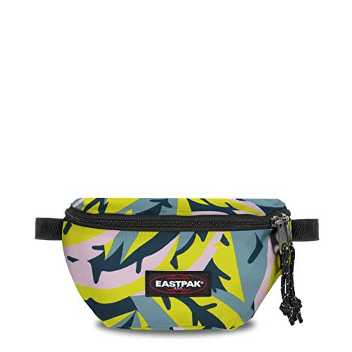 EASTPAK Springer Bum Bag, 16.5 cm, 2 L, Leaves Spring (Multi Colour)