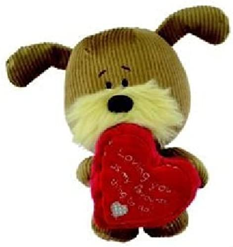suministro de productos de calidad Lots Lots Lots of Woof - Woof Soft Toy Dog - Holding a Heart - Loving you - 9  by Xpressions  suministro directo de los fabricantes