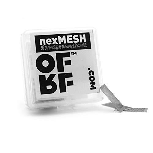 10x nexMESH OFRF COIL 0,13 Ω Ohm A1 Wotofo Mesh Selbstwickler RBA 60-70W