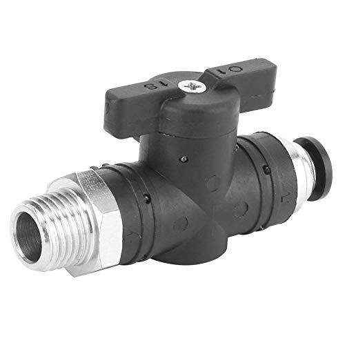 Valvola manuale autobloccante per tubo da 6 mm con raccordo pneumatico per sistema pneumatico per tubazione pneumatica(BC6-03)