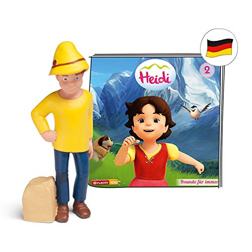 tonies Hörfiguren für Toniebox - Heidi - Freunde für Immer - ca. 63 Min. - Ab 5 Jahre -DEUTSCH