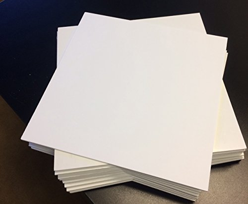 White PVC Foam Board Sheet 1/8